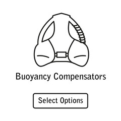 Icon buoyancy compensator scuba diving equipment