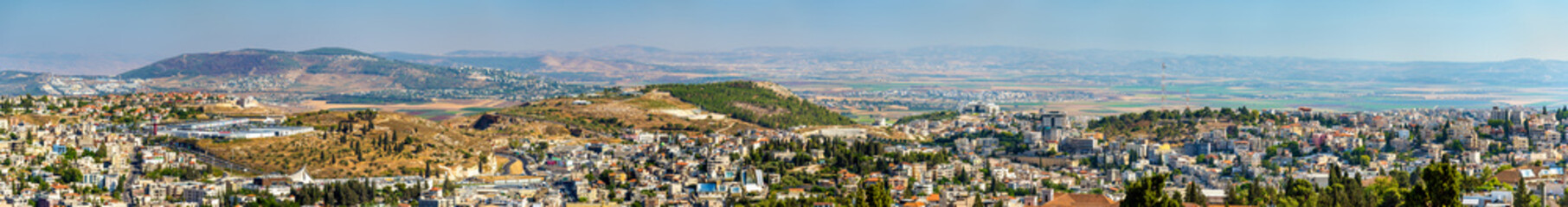 Panoramic view of Nazareth - Israel