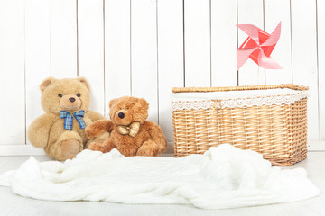 baby photography studio background setup