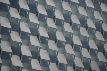 Window pattern of a building.