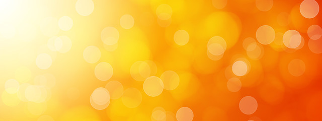 abstract orange bokeh background Fototapete