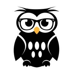 Cute vector owl icon