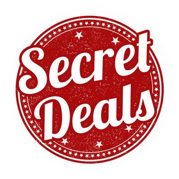 Secret deals stamp