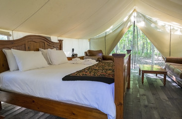 Glamping Tent in the Woods