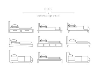 set bed outline