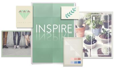 Inspire Aspiration Creativity Motivate Trust Vision Concept