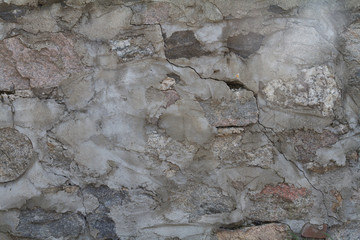 stones and mortar rock wall
