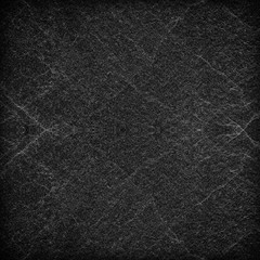 abstract black slate stone background or texture