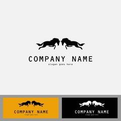 couple horse logo