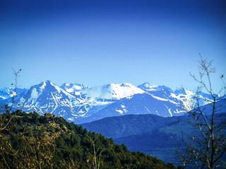 Ordesa national park in the Spanish Pyrenees in Spain