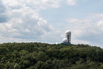 Teufelsberg in Berlin, Germany on a sunny day