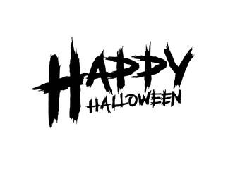 Happy Halloween Typed Lettering