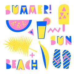 Summer Design Elements