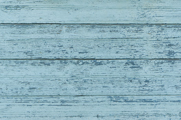 Old wood texture blue background