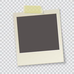 old photo frame vector illustration