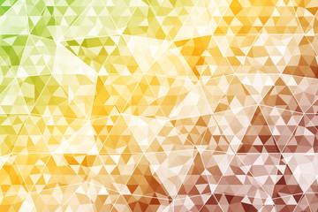 abstract color crumpled background triangles. autumn color. Vector illustration of a gradient.