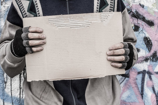 Homeless Sign Photos Royalty Free Images Graphics Vectors Videos Adobe Stock