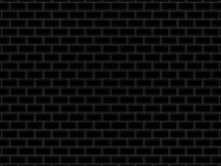 black brick background