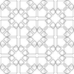 Monochrome elegant seamless pattern
