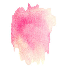 Abstract watercolor background for your design. Wet  watercolour