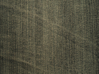 Closeup of vintage unique jean denim texture for background. Fabric pattern for background.