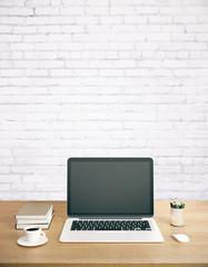 Creative designer workspace
