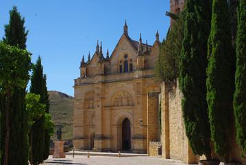Foto auf Acrylglas Denkmal Collegiate Church of Santa Maria Maggiore in Antequera, Spain
