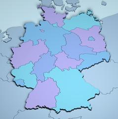 Germany 3D