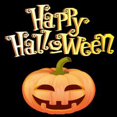 тыква с улыбкой,хеллоуин