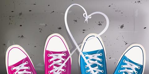 Amour - jeunes - coeur