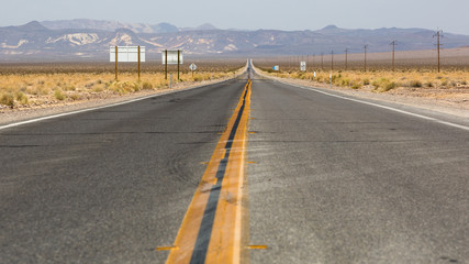 Road to Death Valley, California, USA