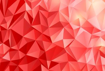 赤 ポリゴン 背景