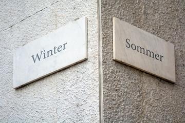Schild 109 - Winter