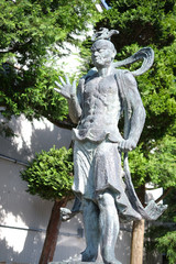 Japanese god statue.