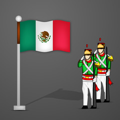 Mexico Independence Day background