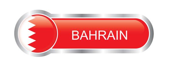 Bahrain flag glossy banner