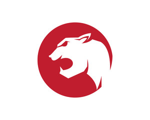 puma logo template