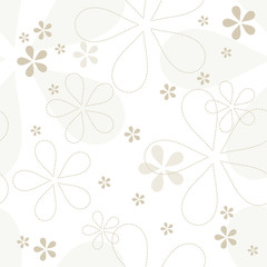 Floral seamless pattern. Graphic design element.