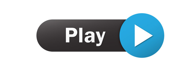 """PLAY"" Vector Web Button"