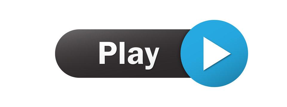 """""""PLAY"""" Vector Web Button"""