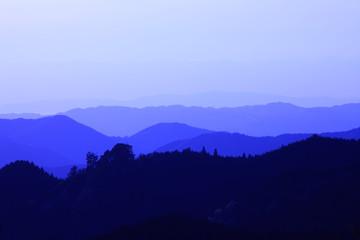 高野山、大門付近からの風景