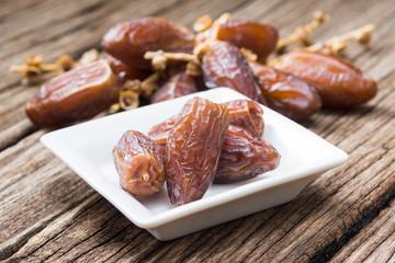 Dried date palm fruits ( Phoenix dactylifera Linn. ) traditional ramadan food