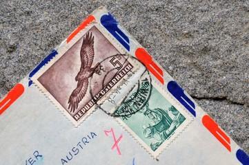 Alter Flugpostbrief
