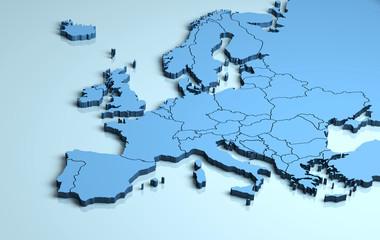 Europe 3D
