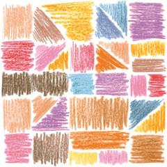 Vector pattern. pencil strokes
