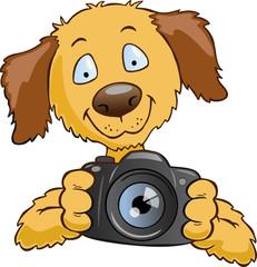 dog photography logo