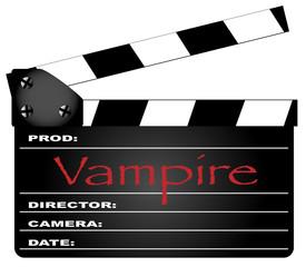 Vampire Clapperboard