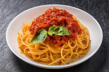 イタリアンパスタ  アマトリチャーナ  Spaghetti All'Amatriciana