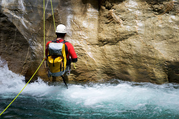 Canyoning in Spain