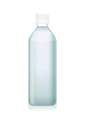 Transparency plastic bottle have pure water. Idea for packaging mock up of drinking water.